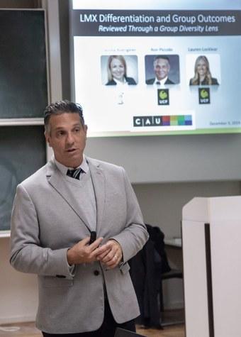 Research Talk - Ron Piccolo